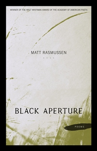 """Black Aperture,"" Winner of the Walt Whitman Award of the Academy of American Poets, Published by LSU Press"