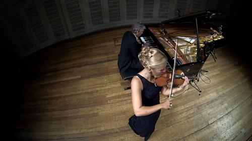 GoPro Camera Recording Classical Music