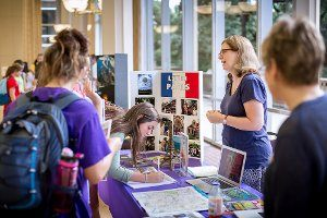 LSU held its annual Study Abroad Fair Sept 25-26, 2013 in the LSU Student Union's Cotillion Ballroom