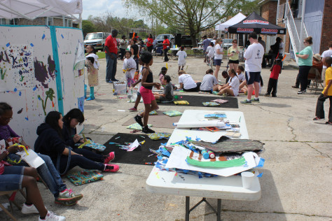 Gardere Initiative Neighborhood Arts Project Baton Rouge LA