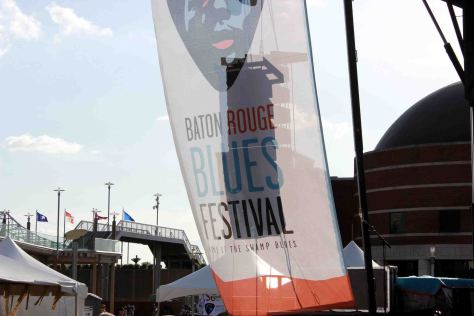 Baton Rouge Blues Festival Flag, 2014